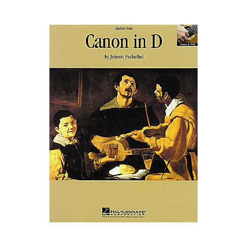 Hal Leonard Canon in D Guitar Sheet Music Book-thumbnail