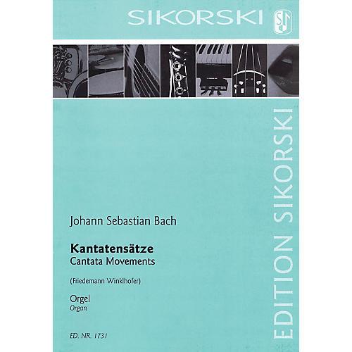 Sikorski Cantata Movements Organ Collection Series