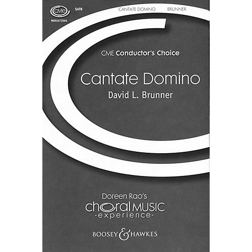 Boosey and Hawkes Cantate Domino (CME Conductor's Choice) Brass Quintet Composed by David L. Brunner-thumbnail