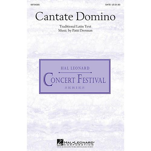 Hal Leonard Cantate Domino SATB composed by Patti Drennan-thumbnail