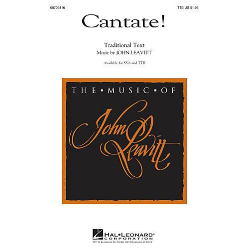 Hal Leonard Cantate! TTB composed by John Leavitt-thumbnail