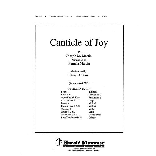 Shawnee Press Canticle of Joy Score & Parts composed by Joseph M. Martin