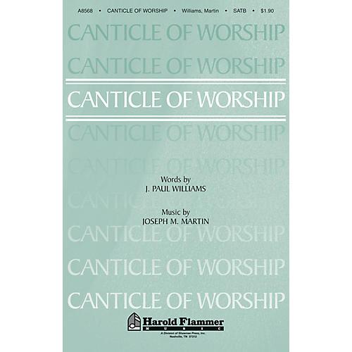 Shawnee Press Canticle of Worship SATB composed by Joseph M. Martin-thumbnail