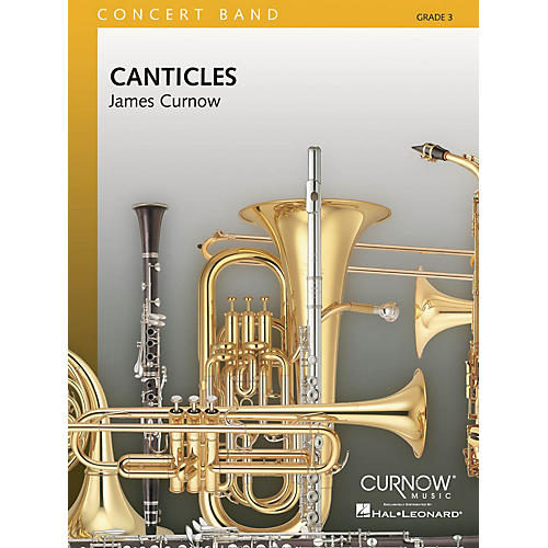 Curnow Music Canticles (Grade 3 - Score Only) Concert Band Level 3 Composed by James Curnow-thumbnail