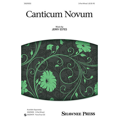 Shawnee Press Canticum Novum (Together We Sing Series) 3-Part Mixed composed by Jerry Estes-thumbnail