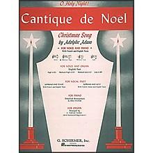 G. Schirmer Cantique De Noel (O Holy Night) In D Flat for Medium High Voice By Adam / Deis