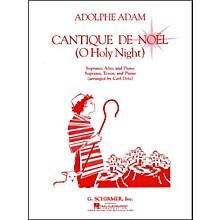 G. Schirmer Cantique De Noel  (O Holy Night) Vocal Duets