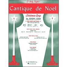 G. Schirmer Cantique De Noel (O Holy Night) for Medium Low Voice In C By Adam / Deis