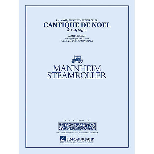 Hal Leonard Cantique de Noël  (O Holy Night) - Young Concert Band Series Level 3 arranged by Robert Longfield