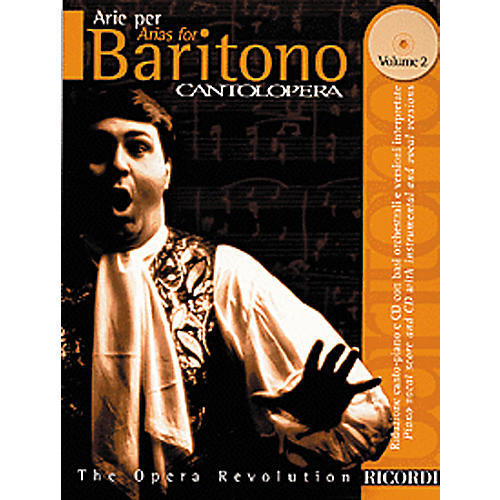Hal Leonard Cantolopera Arias for Baritone - Volume 2 Book/CD-thumbnail