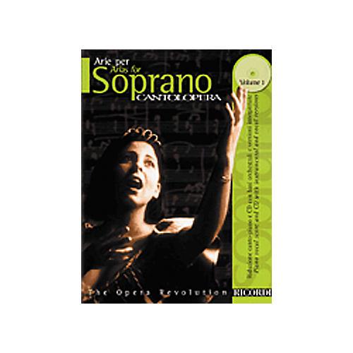 Hal Leonard Cantolopera Arias for Soprano - Volume 1 Book/CD