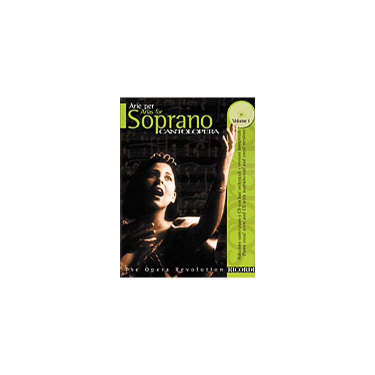 Hal Leonard Cantolopera Arias for Soprano - Volume 1 Book/CD