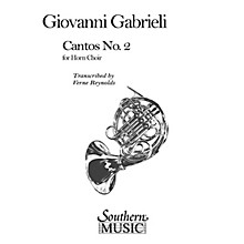 Southern Cantos No. 2 (Archive) (Horn Choir) Southern Music Series Arranged by Verne Reynolds