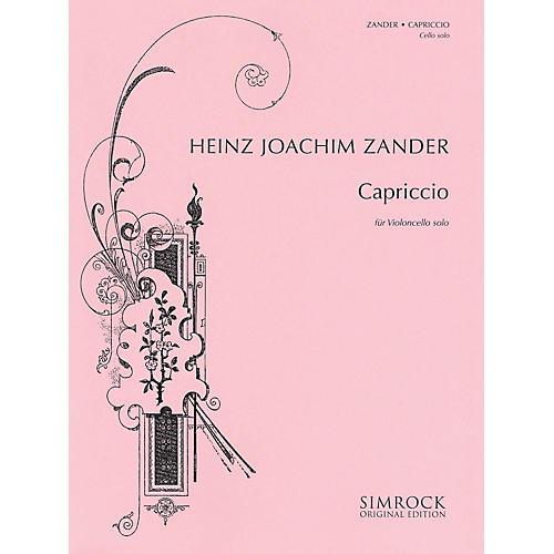 Simrock Capriccio (Cello Solo) Boosey & Hawkes Chamber Music Series-thumbnail