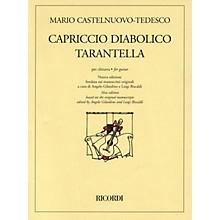 Ricordi Capriccio Diabolico and Tarantella (New Edition for Solo Guitar) Guitar Series