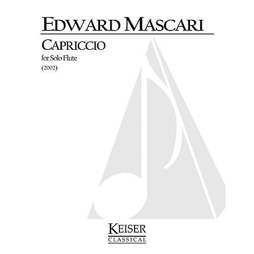 Lauren Keiser Music Publishing Capriccio (Flute Solo) LKM Music Series Composed by Edward P. Mascari-thumbnail