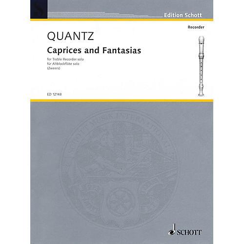 Schott Caprices and Fantasias (for Treble Recorder) Schott Series-thumbnail