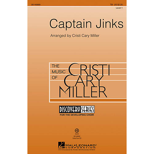Hal Leonard Captain Jinks (Discovery Level 1) TB arranged by Cristi Cary Miller-thumbnail