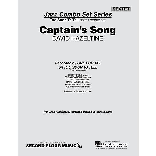 Second Floor Music Captain's Song (from the ALL FOR ONE Sextet Combo Series) Jazz Band Level 4-5 Composed by David Hazeltine-thumbnail