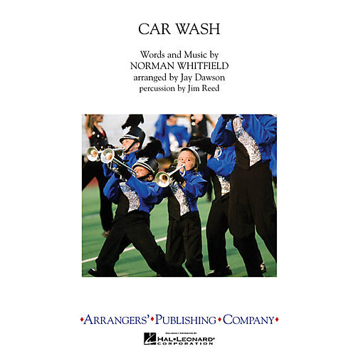 Arrangers Car Wash Marching Band Level 3 by Rose Royce Arranged by Jay Dawson-thumbnail