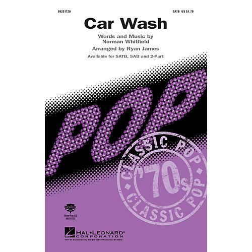 Hal Leonard Car Wash ShowTrax CD Arranged by Ryan James