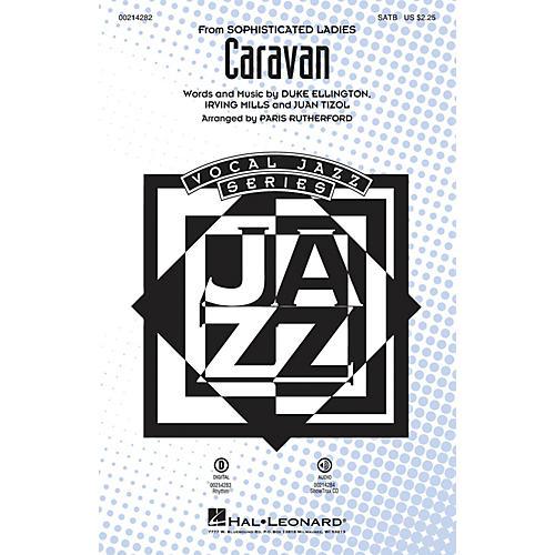 Hal Leonard Caravan SATB arranged by Paris Rutherford-thumbnail