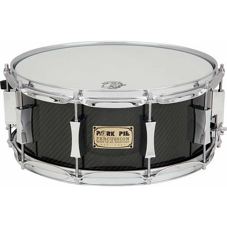 Pork Pie Carbon Fiber Snare Drum 6x14 inch
