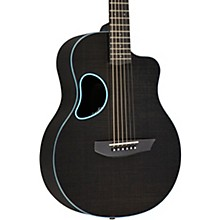Carbon Series Touring Acoustic-Electric Guitar Blue Binding