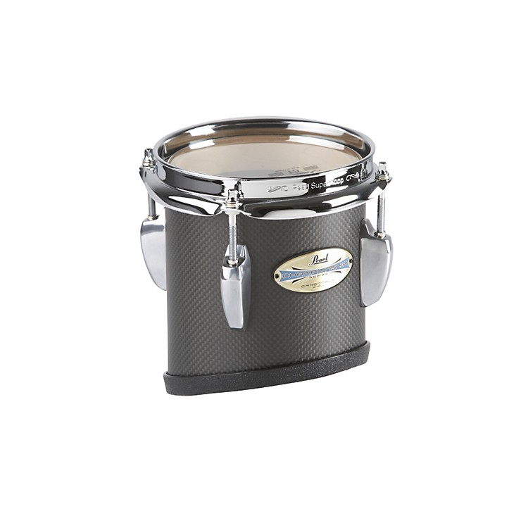 Pearl CarbonPly Maple Marching Tom #301  Carbon Fiber Matte 6x8