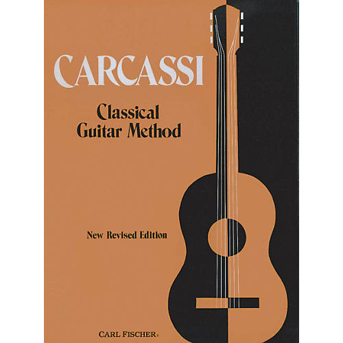 Carl Fischer Carcassi Classical Guitar Method Book - New Revised Edition-thumbnail