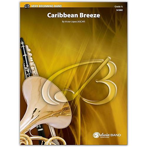 BELWIN Caribbean Breeze Conductor Score 0.5 (Very Easy)-thumbnail