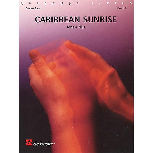 De Haske Music Caribbean Sunrise Sc Only Gr3 Concert Band-thumbnail