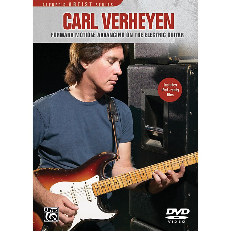 AlfredCarl Verheyen Forward Motion: Advancing On The Electric Guitar (DVD)