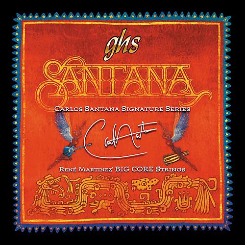 GHS Carlos Santana Big Core Guitar Strings Custom Light