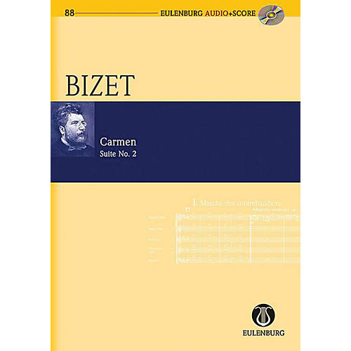 Eulenburg Carmen Suite, No. 2 Eulenberg Audio plus Score Series Softcover with CD Composed by Georges Bizet-thumbnail