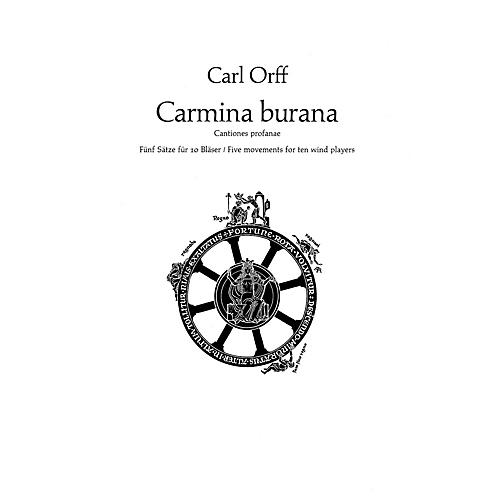 Schott Carmina Burana (Parts) Schott Series by Carl Orff Arranged by Friedrich K. Wanek