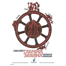 Schott Carmina Burana Score Composed by Carl Orff Arranged by Wilhelm Killmayer