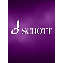 Schott Carmina Burana (String Bass) Schott Series Composed by Carl Orff