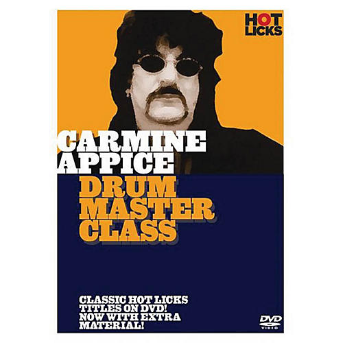 Music Sales Carmine Appice - Drum Master Class Music Sales America Series DVD Performed by Carmine Appice