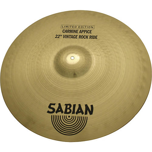 Sabian Carmine Appice Limited Edition Ride Cymbal-thumbnail