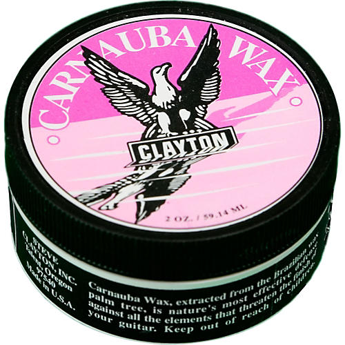 Clayton Carnauba Guitar Wax Polish