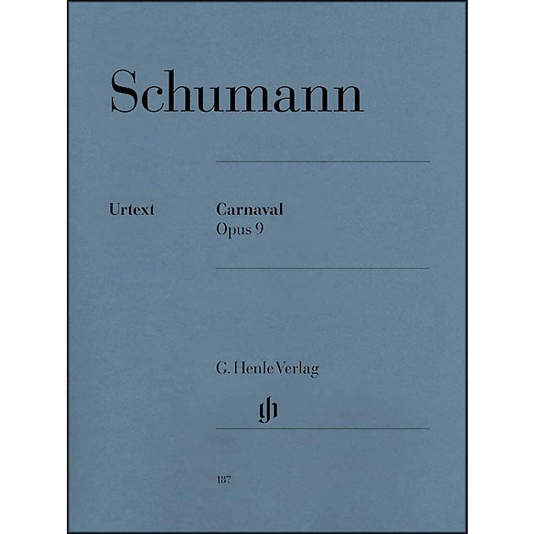 G. Henle VerlagCarnaval Opus 9 By Schumann