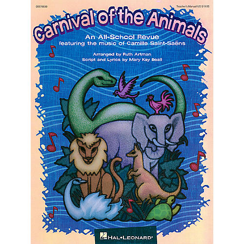 Hal Leonard Carnival of the Animals (Musical) Singer 5 Pak Arranged by Ruth Artman