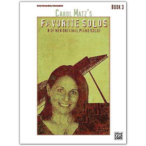 Alfred Carol Matz's Favorite Solos, Book 3 Intermediate / Late Intermediate-thumbnail