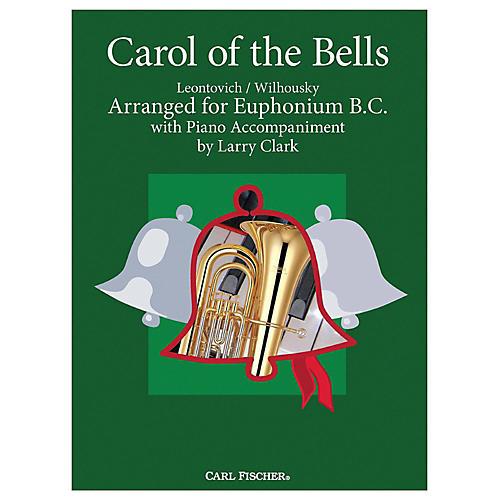 Carl Fischer Carol Of The Bells - Baritone B.C.With Piano Accompaniment