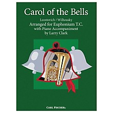Carl Fischer Carol Of The Bells - Baritone T.C. With Piano Accompaniment