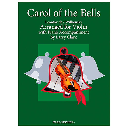 Carl Fischer Carol Of The Bells - Violin With Piano Accompaniment-thumbnail