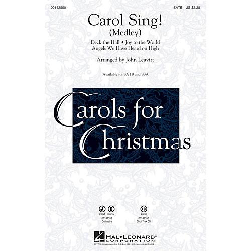 Hal Leonard Carol Sing! (Medley) SSA Arranged by John Leavitt-thumbnail