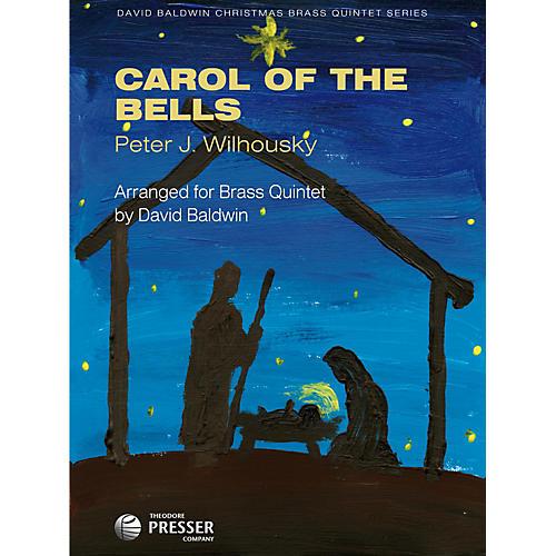 Carl Fischer Carol of the Bells (For Brass Quintet)-thumbnail