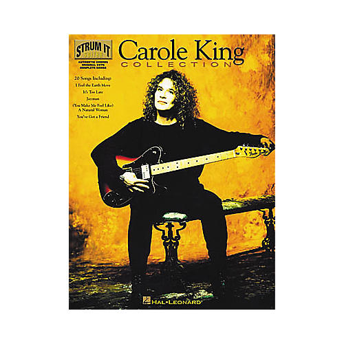 Hal Leonard Carole King Collection Piano/Vocal/Guitar Artist Songbook